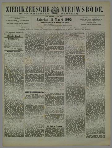 Zierikzeesche Nieuwsbode 1905-03-11