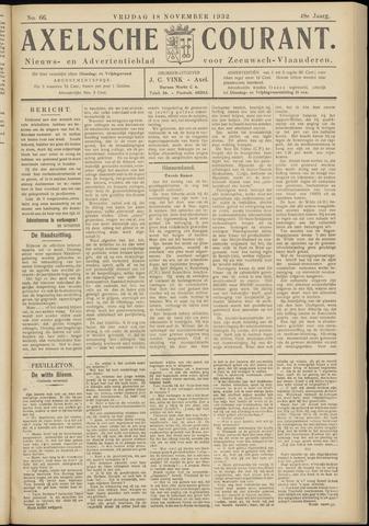 Axelsche Courant 1932-11-18
