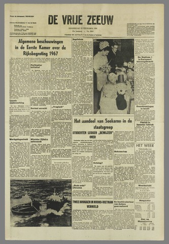 de Vrije Zeeuw 1966-12-22