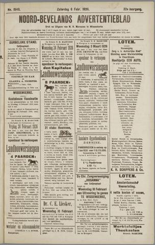 Noord-Bevelands Nieuws- en advertentieblad 1926-02-06