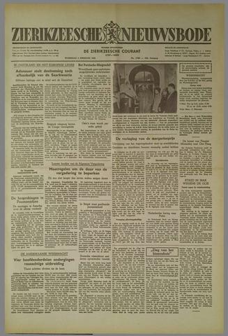 Zierikzeesche Nieuwsbode 1952-02-06