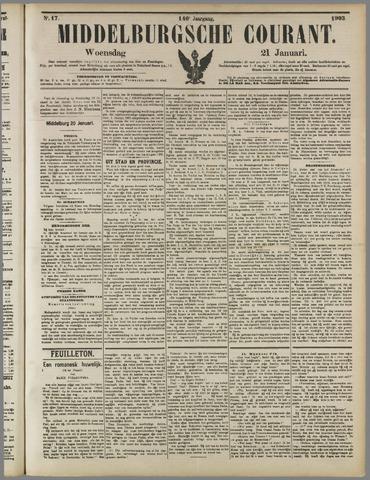 Middelburgsche Courant 1903-01-21