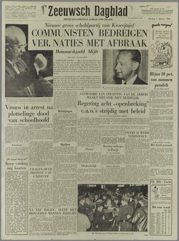 Zeeuwsch Dagblad 1960-10-04