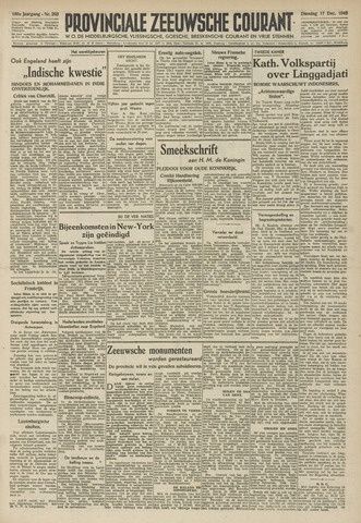 Provinciale Zeeuwse Courant 1946-12-17