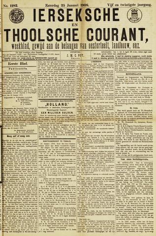 Ierseksche en Thoolsche Courant 1908-01-25