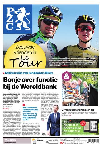 Provinciale Zeeuwse Courant 2018-07-04