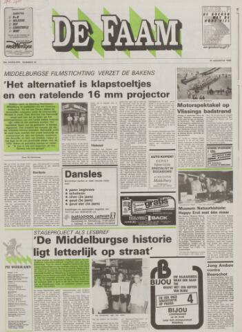 de Faam en de Faam/de Vlissinger 1988-08-31