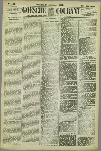 Goessche Courant 1917-11-13