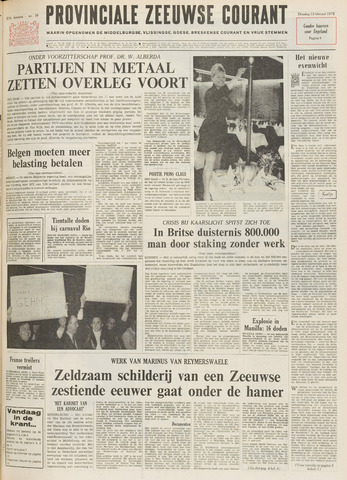 Provinciale Zeeuwse Courant 1972-02-15
