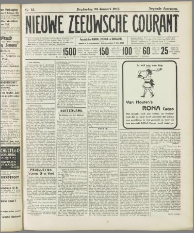 Nieuwe Zeeuwsche Courant 1913-01-30