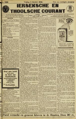 Ierseksche en Thoolsche Courant 1926-10-08