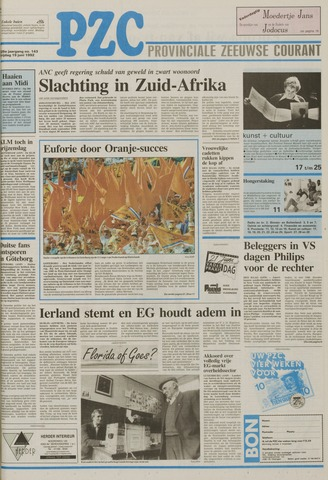 Provinciale Zeeuwse Courant 1992-06-19