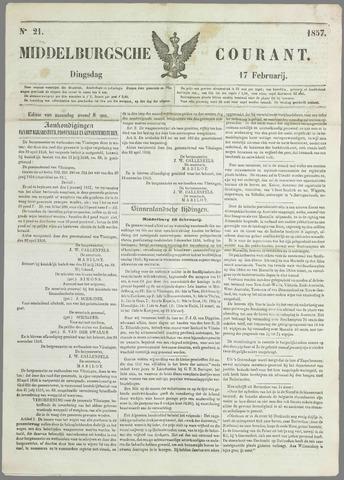 Middelburgsche Courant 1857-02-17