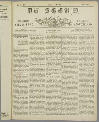 De Zeeuw. Christelijk-historisch nieuwsblad voor Zeeland 1896-11-07