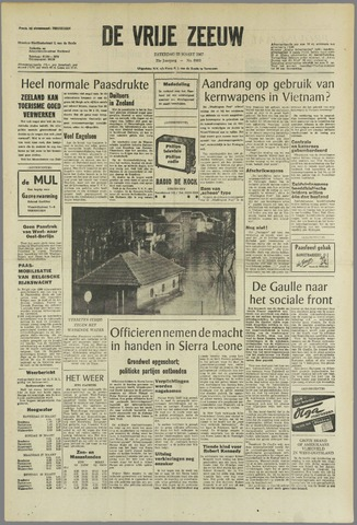 de Vrije Zeeuw 1967-03-25