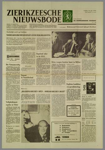 Zierikzeesche Nieuwsbode 1972-07-14