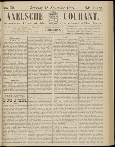 Axelsche Courant 1907-09-28