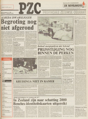 Provinciale Zeeuwse Courant 1979-08-11