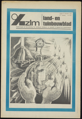 Zeeuwsch landbouwblad ... ZLM land- en tuinbouwblad 1973-12-21
