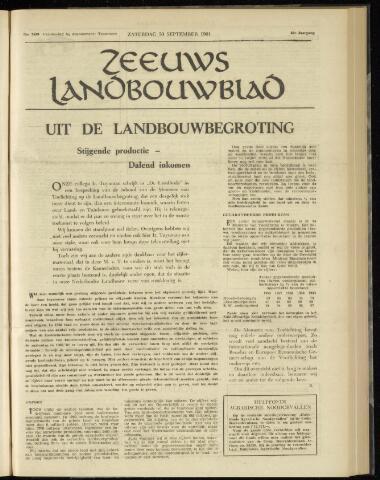 Zeeuwsch landbouwblad ... ZLM land- en tuinbouwblad 1961-09-30