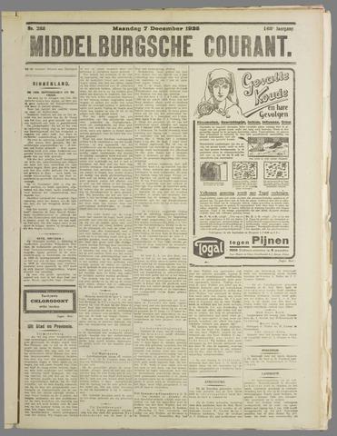 Middelburgsche Courant 1925-12-07