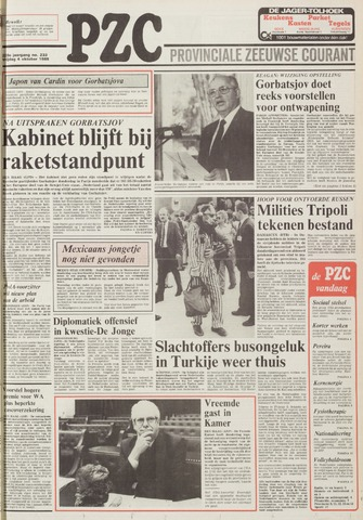 Provinciale Zeeuwse Courant 1985-10-04