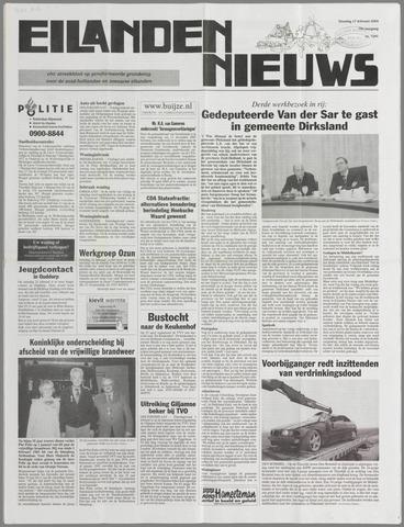 Eilanden-nieuws. Christelijk streekblad op gereformeerde grondslag 2004-02-17