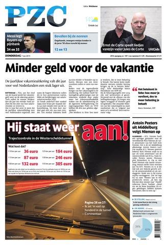 Provinciale Zeeuwse Courant 2015-05-07