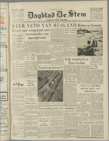 de Stem 1958-07-23