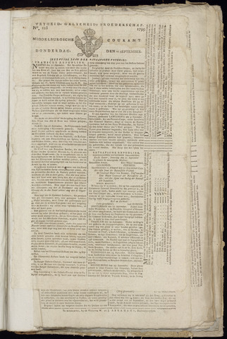 Middelburgsche Courant 1799-09-26