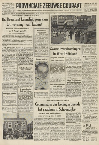 Provinciale Zeeuwse Courant 1956-07-21