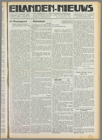 Eilanden-nieuws. Christelijk streekblad op gereformeerde grondslag 1949-02-19