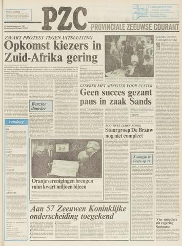 Provinciale Zeeuwse Courant 1981-04-30