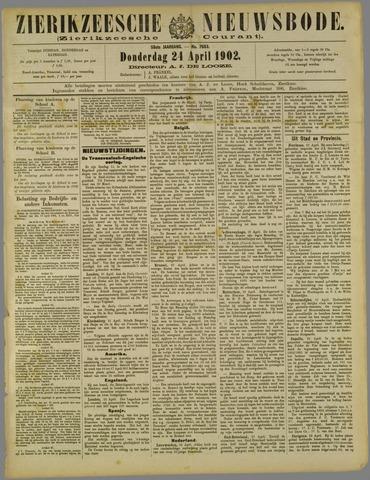 Zierikzeesche Nieuwsbode 1902-04-24