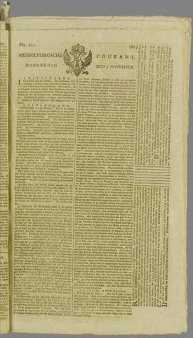 Middelburgsche Courant 1805-11-07