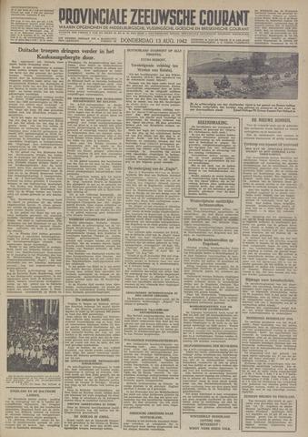Provinciale Zeeuwse Courant 1942-08-13