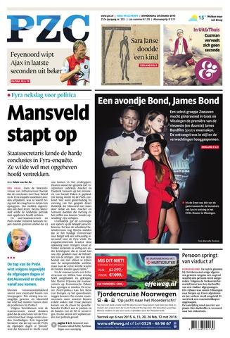Provinciale Zeeuwse Courant 2015-10-29