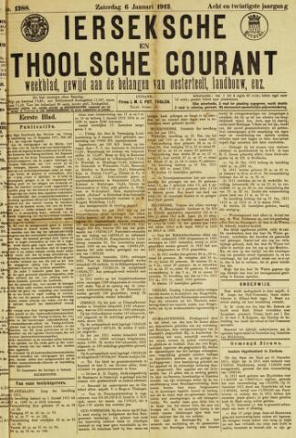 Ierseksche en Thoolsche Courant 1912-01-06
