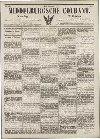 Middelburgsche Courant 1901-10-28