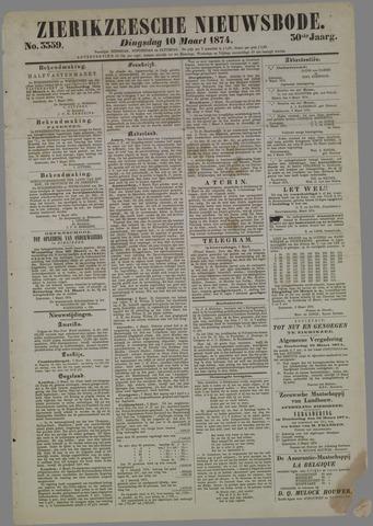 Zierikzeesche Nieuwsbode 1874-03-10