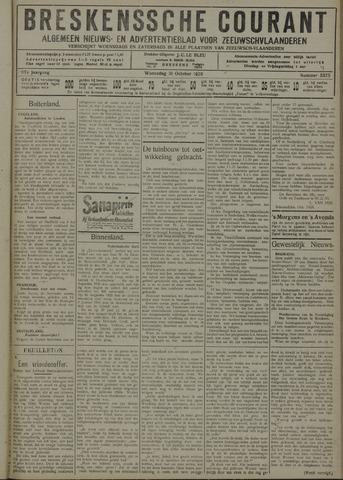 Breskensche Courant 1928-10-31