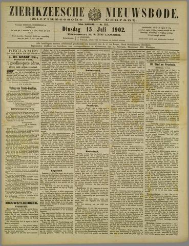 Zierikzeesche Nieuwsbode 1902-07-15