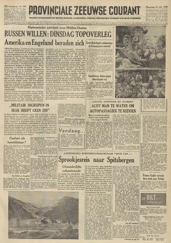 Provinciale Zeeuwse Courant 1958-07-21