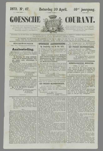 Goessche Courant 1872-04-20