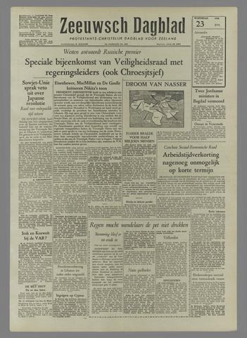 Zeeuwsch Dagblad 1958-07-23