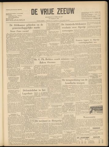 de Vrije Zeeuw 1957-02-14