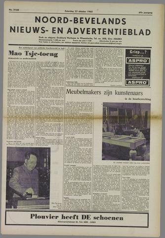Noord-Bevelands Nieuws- en advertentieblad 1965-10-23