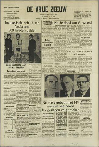 de Vrije Zeeuw 1966-09-08