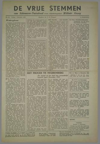 Vrije Stemmen van Schouwen-Duiveland, tevens mededeelingenblad Militair Gezag 1945-12-07
