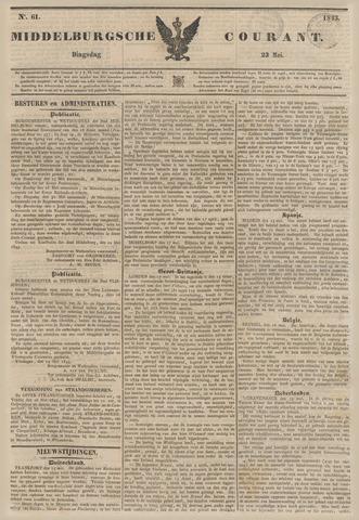 Middelburgsche Courant 1843-05-23